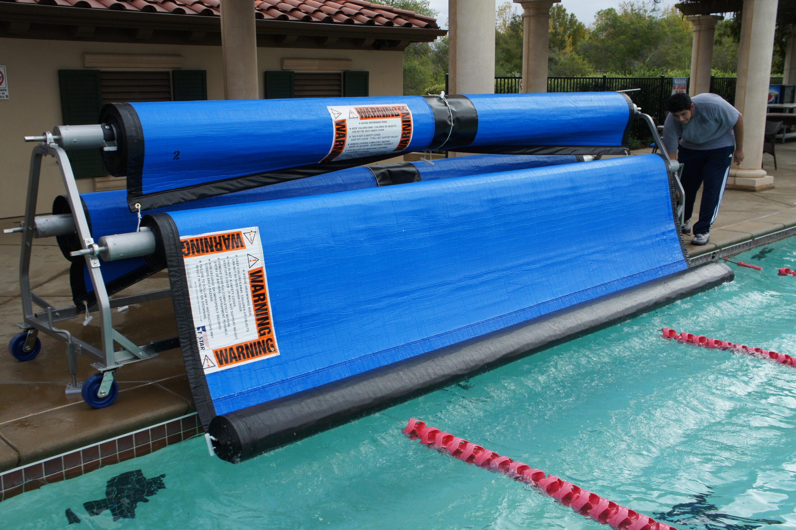 Pool Cover Storage Reel